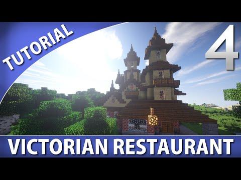 Minecraft Tutorials – Victorian Restaurant [Part 4/4]