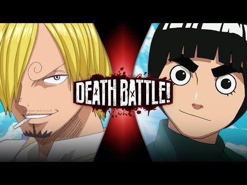 Sanji VS Rock Lee (One Piece VS Naruto) | DEATH BATTLE!