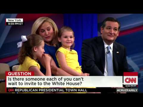 WATCH: Presidential Candidate Ted Cruz's Girls Want Taylor Swift to Visit the White House