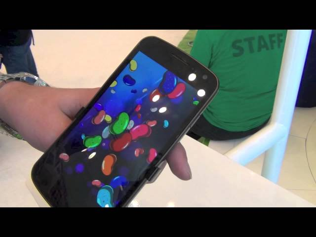 Android 4.1 Jelly Bean Easter Egg