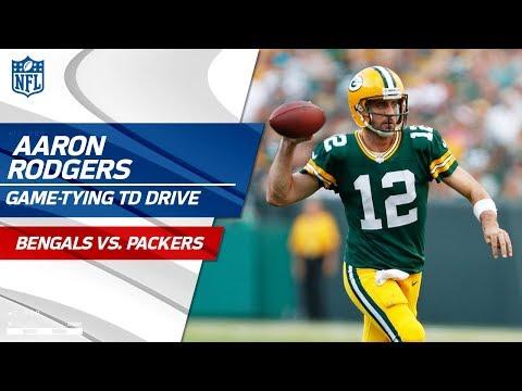 Video: Aaron Rodgers' Clutch Game-Tying TD Drive vs. Cincinnati | Bengals vs. Packers | NFL Wk 3
