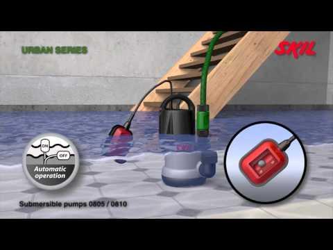 SKIL Schmutzwasser-Tauchpumpen - jetzt bei ZGONC