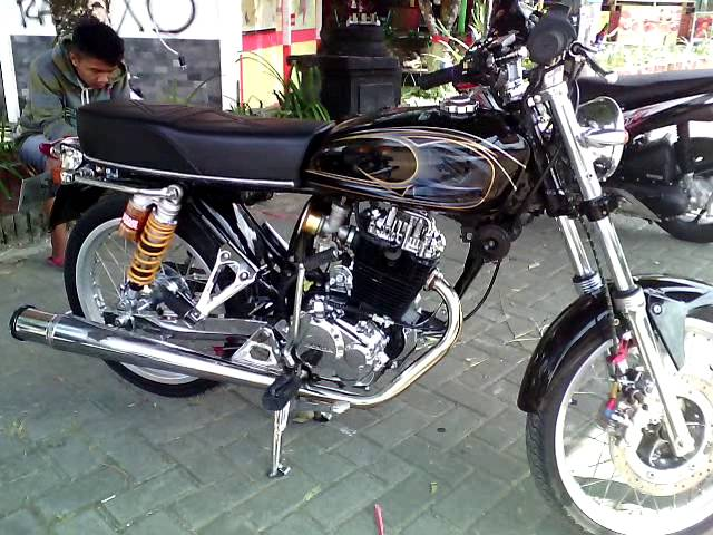 Modifikasi-motor-cb-100-airbrush