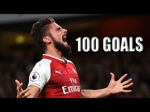 Olivier Giroud | All 100 Goals For Arsenal