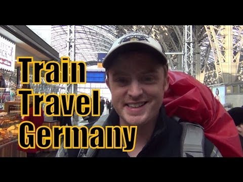 Train travel in Germany from Frankfurt to Berlin