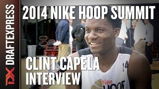 Clint Capela - 2014 Nike Hoop Summit - Interview