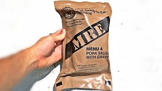 Video Testing US Military MRE (Meal Ready to Eat) MP3, 3GP, MP4, WEBM, AVI, FLV Februari 2019
