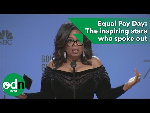 Equal Pay Day: The inspiring stars who spoke out for equal pay