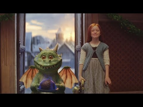 Edgar the excitable dragon stars in John Lewis 2019 Christmas advert
