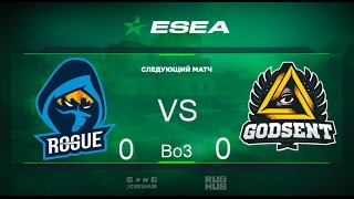 Rogue gg vs Godsent - ESEA Premier - map2 - de_overpass