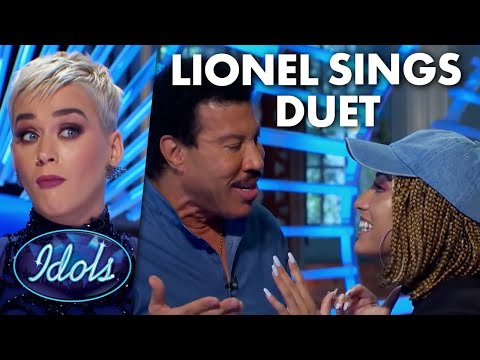 LIONEL RICHIE SINGS SURPRISE DUET WITH CONTESTANT | Idols Global