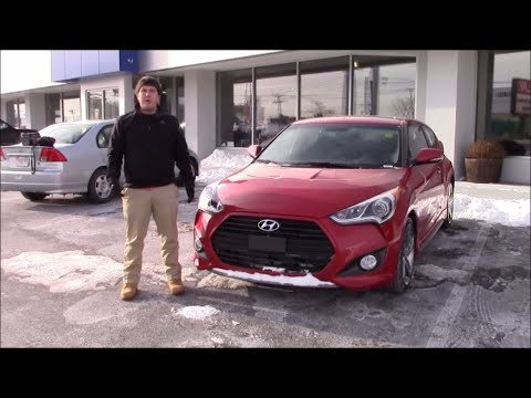 2015 Hyundai Veloster Turbo Review and Test Drive