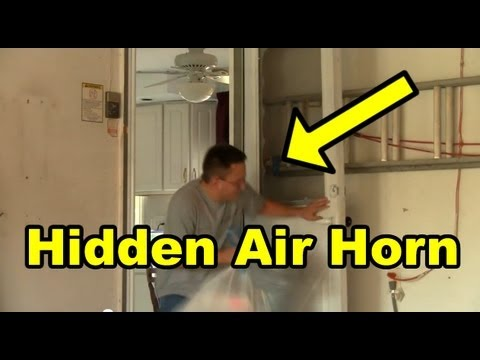 horn - The funny prank war continues with this funny video! Andrew strikes back on Matt with another air horn prank! It is amazing how the first air horn prank was ...