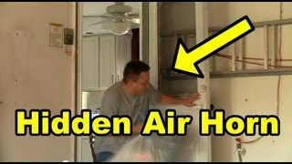 Funny Video - Funny Air Horn Prank 2