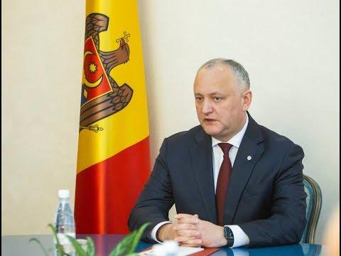 Președintele Republicii Moldova a avut o întrevedere cu producătorii din sectorul animalier și vegetal