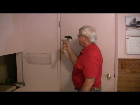 fix - To fix a door that's stuck above the knob, Don Spencer shows an easy way to adjust or tweak the top hinge. It takes only a moment for the door to work perfec...