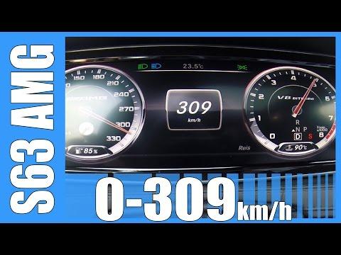 mercedes s63 amg - raggiunge i 309 km/h !