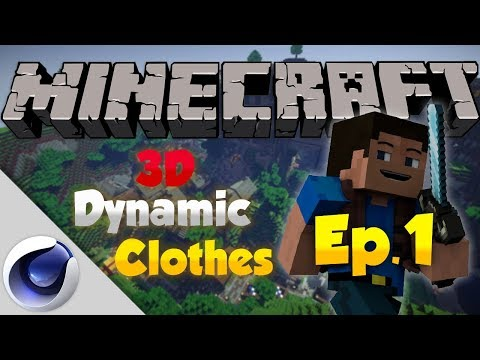 Minecraft DYNAMIC 3D CLOTHES Tutorial - Part 1