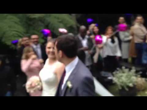 Saida dos noivos - Leo e Thais - 25/06/16- Sitio Xangri-la Resort