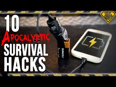 10 Apocalyptic Survival Hacks! Want To Know How To Survive An Apocalypse? How About Zombie Survival?