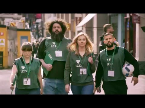 Carlsberg chuggers reward patriots with surprise Euro tickets  video
