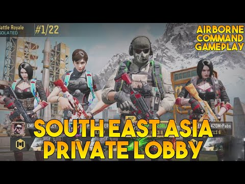 SOUTH EAST ASIA PRIVATE LOBBY AIRBORNE | COMMANDING GAMEPLAY | CALL OF DUTY (S9)