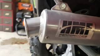 8. 2016 Polaris Sportsman 570 exhaust mod