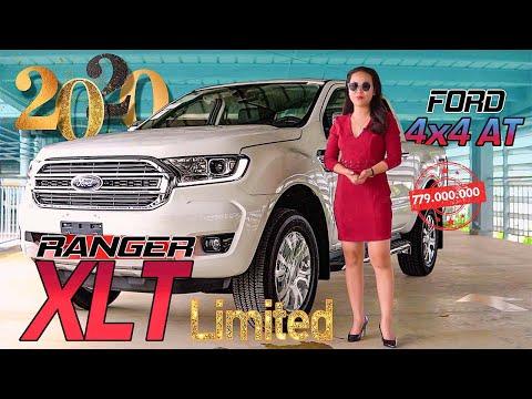 Ford Ranger XLT 2020 Limited Giá 779 Triệu   Xe Bán Tải 2 Cầu Số Tự Động Hiệu Năng Cao   Gái Mê Xe