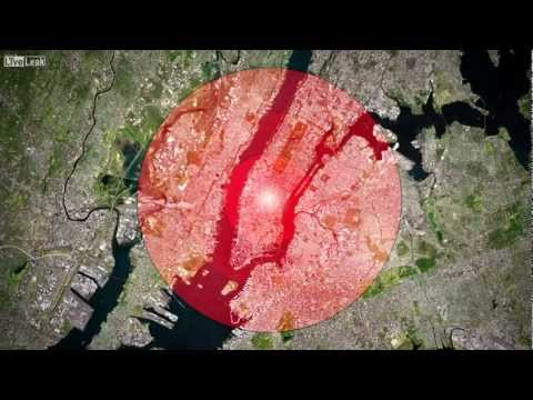 Effects of a nuclear bomb 2013 HD