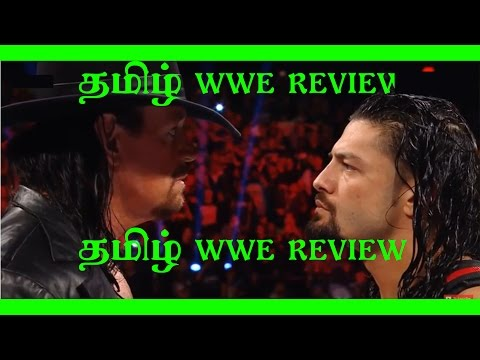 Tamil WWE Raw Full Show | 6 march 2017 in tamil | Tamil WWE Review