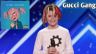 Video Kid dances to Gucci Gang on America's got talent! MP3, 3GP, MP4, WEBM, AVI, FLV Januari 2018