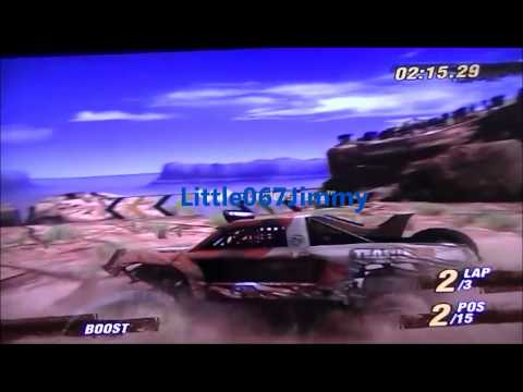 playstation3 - Motor Storm Game Play1