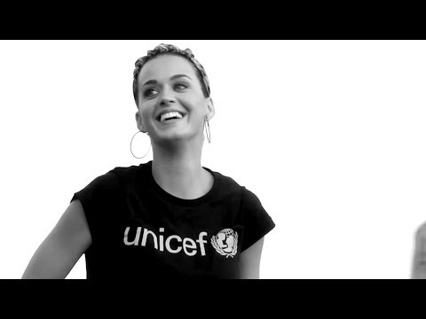 UNICEF Goodwill Ambassador Katy Perry - at Work