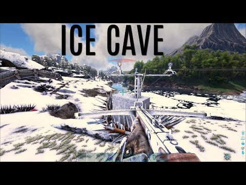 GETTING THROUGH THEIR ICE CAVE - Official PVP - ARK Survival (видео)