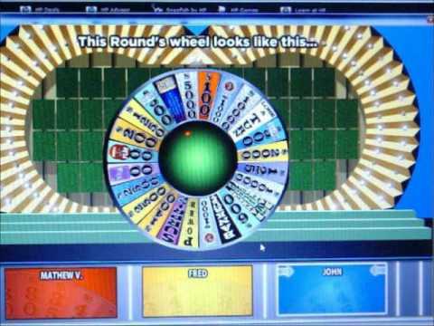 big jon wheel of fortune  for pc