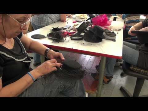 """Grundtvig Workshop zum Thema """"Lust am Hut"""" Wir machen einen Hut – 2012"""