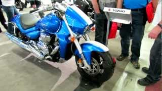 6. 2012 Suzuki Boulevard M109R Limited Edition at 2012 Montreal Motorcycle Show