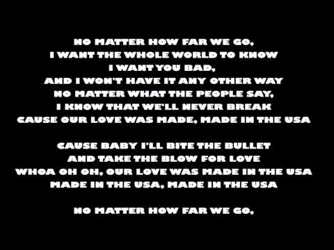 Lyrics - Made In The USA by Demi Lovato