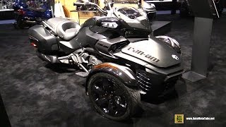 3. 2016 Can am Spyder F3 S Special Series - Walkaround - 2015 AIMExpo Orlando