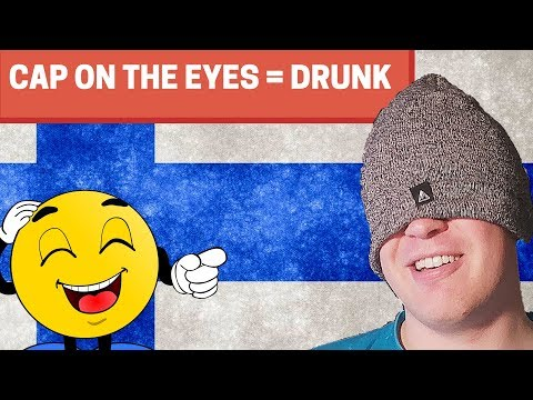 "Funny Finnish Phrases - 12 Fun Ways To Say ""To Be Drunk"" 🍻"