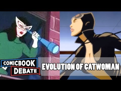 Evolution of Catwoman in Cartoons in 8 Minutes (2017)