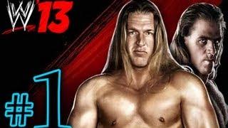 WWE'13 Attitude Era Mode Rise of Dx pt1