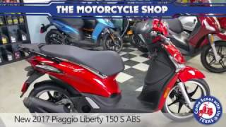 8. New 2017 Piaggio Liberty 150 S ABS
