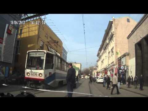 Пешеход не заметил... трамвай!