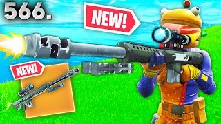 *NEW* HEAVY SNIPER LEAKED GAMEPLAY..!! Fortnite Funny WTF Fails and Daily Best Moments Ep.566