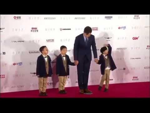 Triplets on Red Carpet @ Busan International Film Festival 2017 (видео)