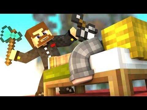 ПРОТИВ НАС ИГРАЕТ ЧИТЕР - Minecraft Bed Wars