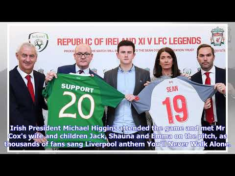 VIDEO: Almost 27,000 Fans Attend Emotional Fundraiser For Sean Cox At The Aviva