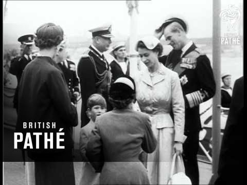 The Queen Comes Home (1954)