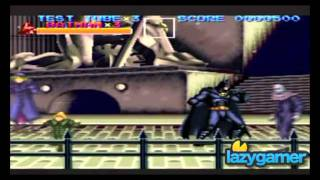 Lazygamer - The history of Batman games